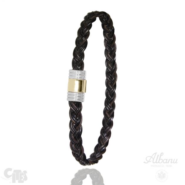 Bracelet Selati Tressé Tout Or