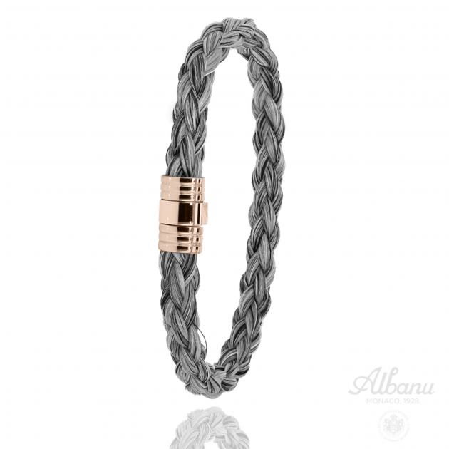 Bracelet Baluchi Acier Rose