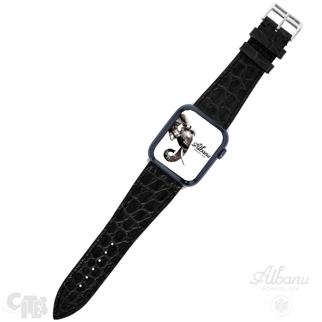 Bracelet Apple Watch Crocodile