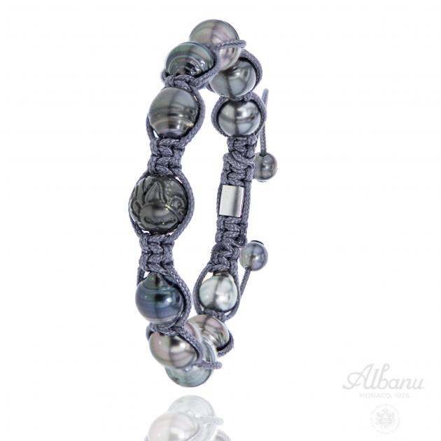 Engraved Baroque Bracelet