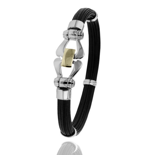 FERMOIR F502P TOUT OR 20GR BRACELET MULTI ELEPHANT
